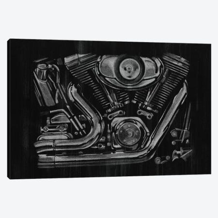 Polished Chrome II Canvas Print #EHA131} by Ethan Harper Canvas Art