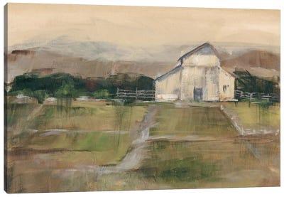 Rural Sunset I Canvas Print #EHA132