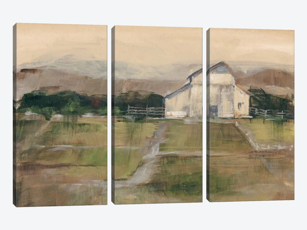 Rural Sunset I by Ethan Harper 3-piece Canvas Art Print