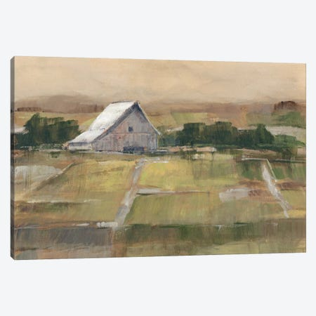 Rural Sunset II Canvas Print #EHA133} by Ethan Harper Canvas Art