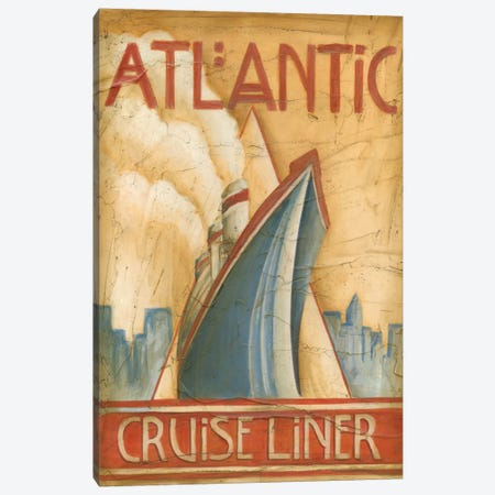 Atlantic Cruise Liner Canvas Print #EHA13} by Ethan Harper Canvas Artwork
