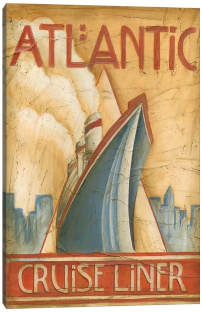 Atlantic Cruise Liner Canvas Art Print