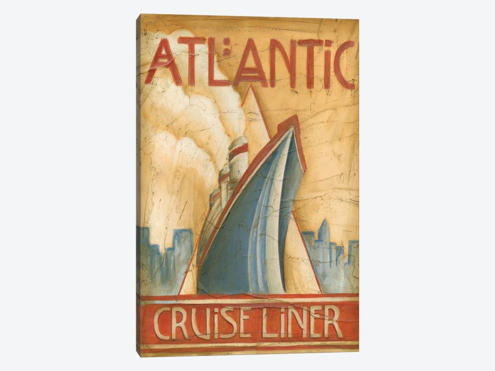 Atlantic Cruise Liner by Ethan Harper 1-piece Canvas Art