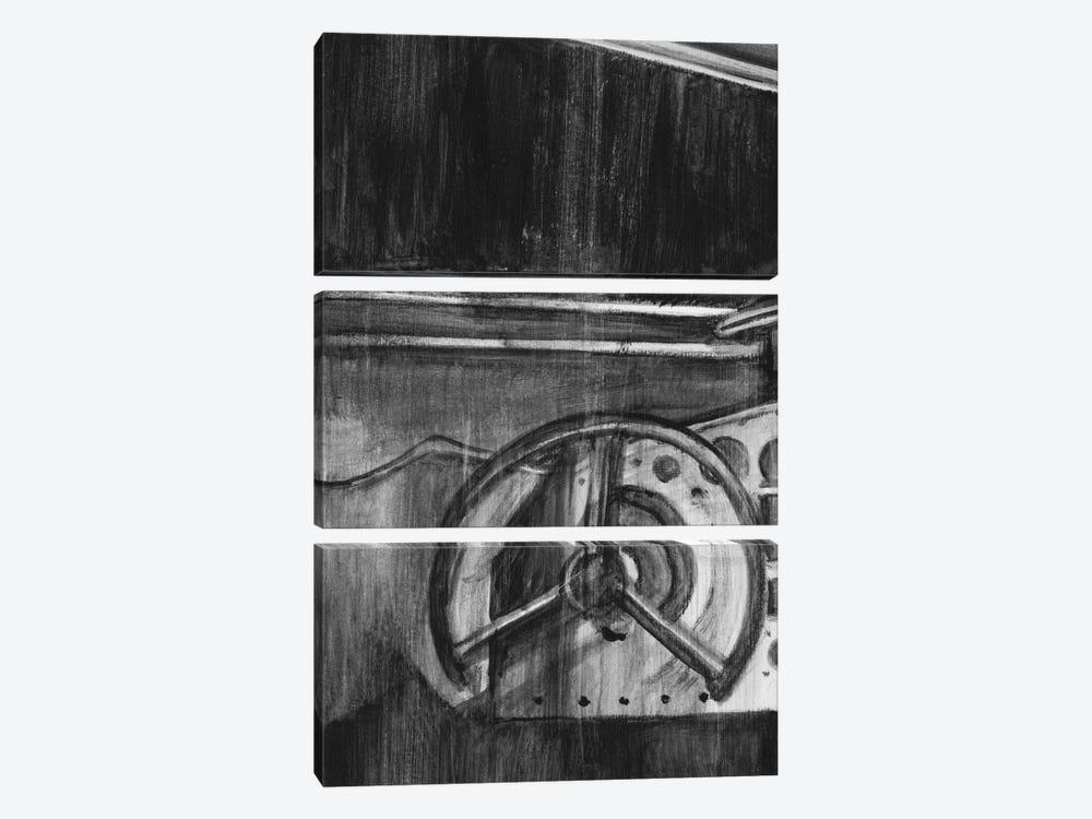 Vintage Cockpit Triptych Panel I by Ethan Harper 3-piece Canvas Art