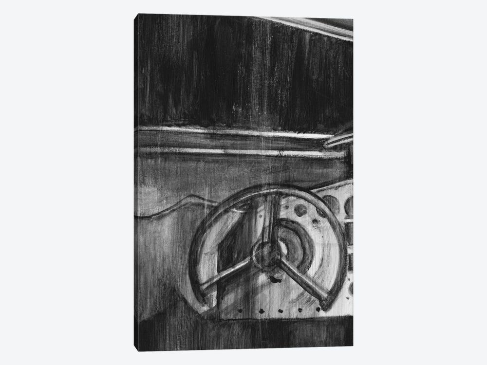 Vintage Cockpit Triptych Panel I by Ethan Harper 1-piece Canvas Artwork