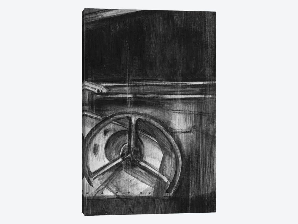 Vintage Cockpit Triptych Panel III by Ethan Harper 1-piece Canvas Artwork