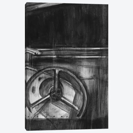 Vintage Cockpit Triptych Panel III Canvas Print #EHA146} by Ethan Harper Canvas Wall Art