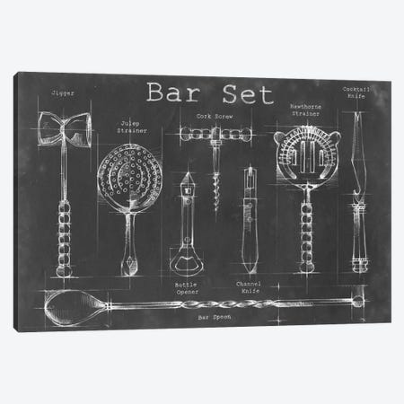 Bar Set Canvas Print #EHA14} by Ethan Harper Canvas Print