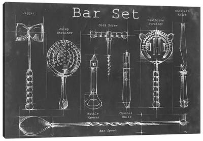 Bar Set Canvas Art Print