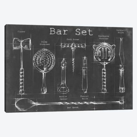 Bar Set 3-Piece Canvas #EHA14} by Ethan Harper Canvas Print