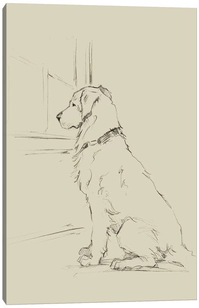 Waiting For Master IV Canvas Art Print