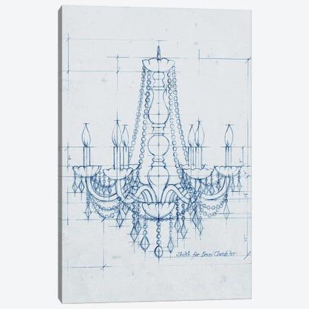 Chandelier Draft IV Canvas Print #EHA156} by Ethan Harper Canvas Print