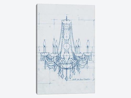 Chandelier draft iv canvas art print by ethan harper icanvas chandelier draft iv 1 piece canvas art print aloadofball Gallery