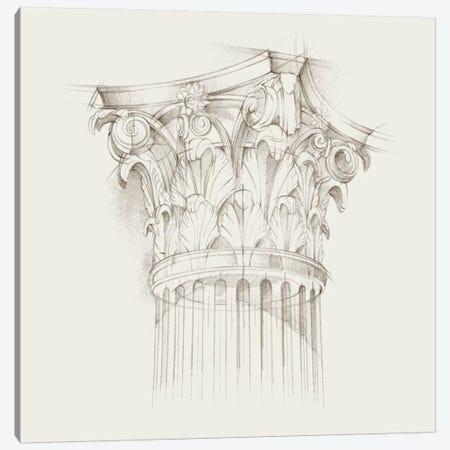 Column Schematic IV Canvas Print #EHA164} by Ethan Harper Canvas Art