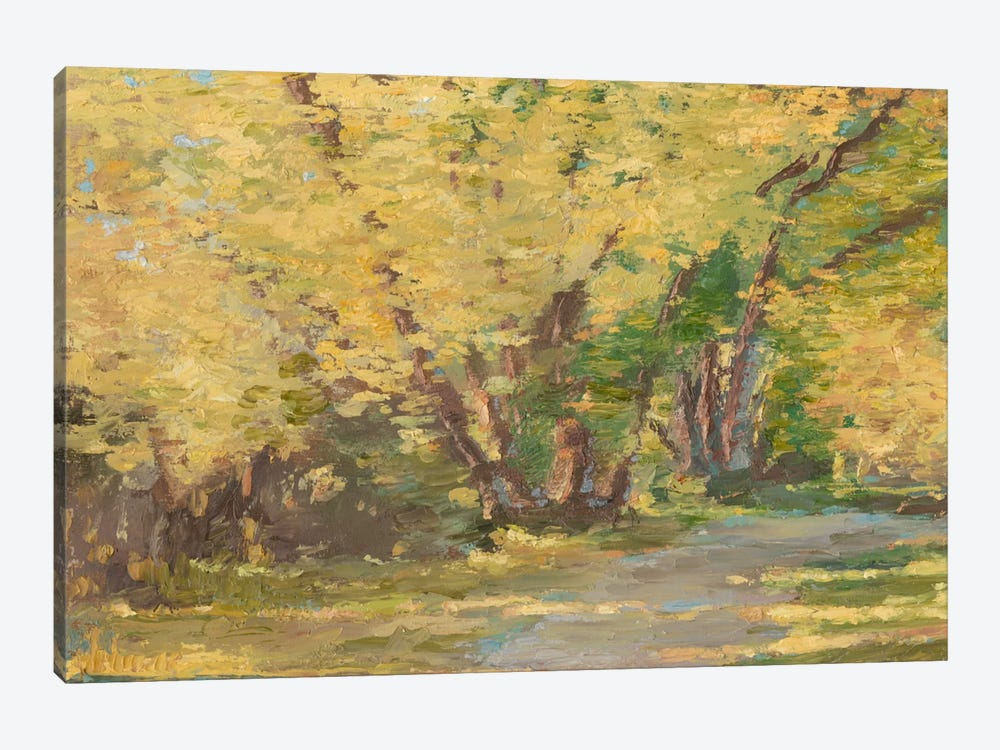 Fall Path I 1-piece Canvas Art Print