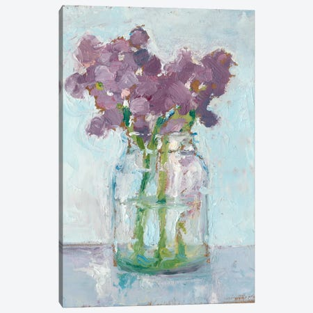 Impressionist Floral Study II Canvas Print #EHA171} by Ethan Harper Canvas Artwork