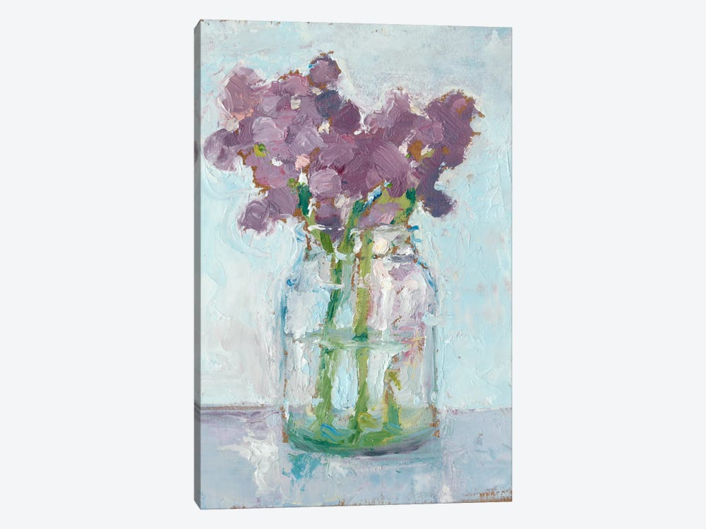 Impressionist Floral Study II by Ethan Harper 1-piece Canvas Artwork