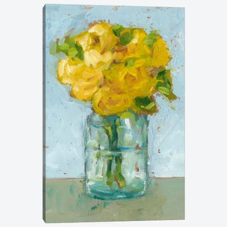 Impressionist Floral Study III Canvas Print #EHA172} by Ethan Harper Canvas Wall Art