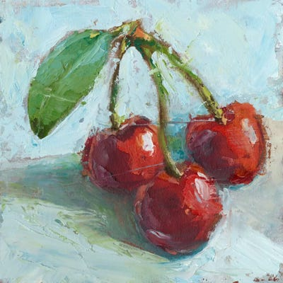 Impressionist Fruit Study Iv Canvas Art Print By Ethan