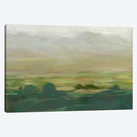 Misty Valley I Canvas Print #EHA178} by Ethan Harper Canvas Art