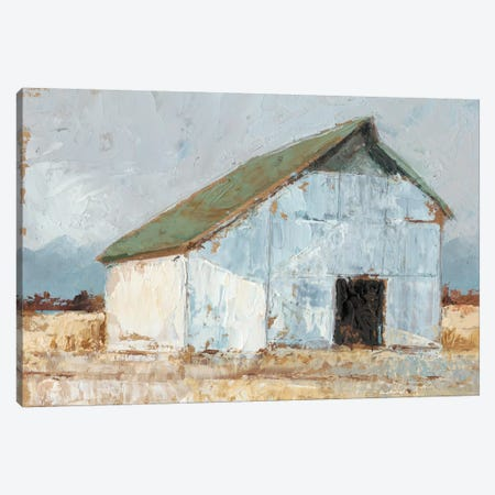 Whitewashed Barn I Canvas Print #EHA190} by Ethan Harper Canvas Wall Art