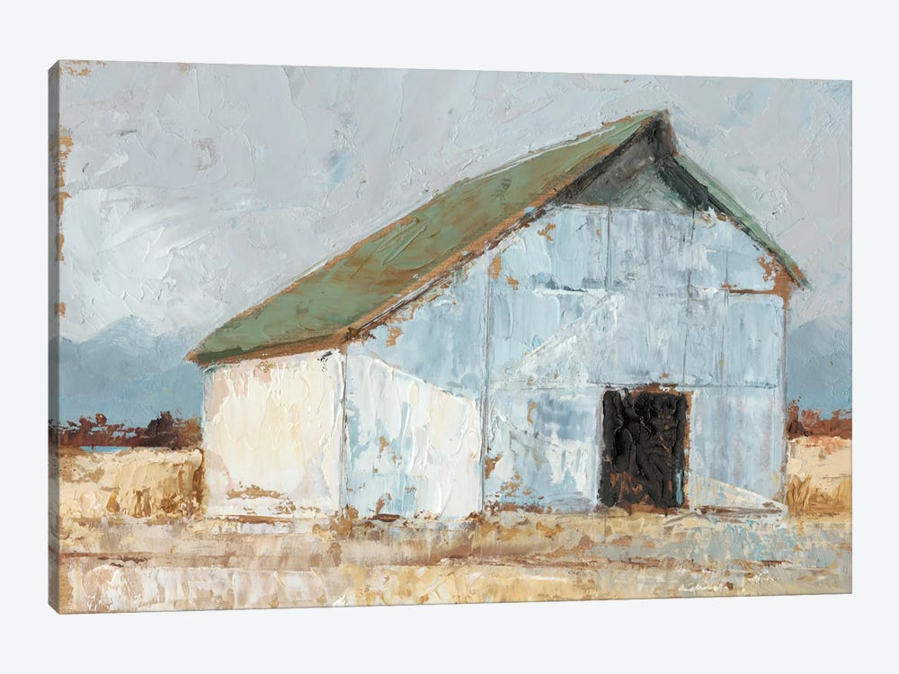 Whitewashed Barn I by Ethan Harper 1-piece Canvas Print
