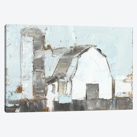 Barn & Silo II Canvas Print #EHA193} by Ethan Harper Canvas Wall Art