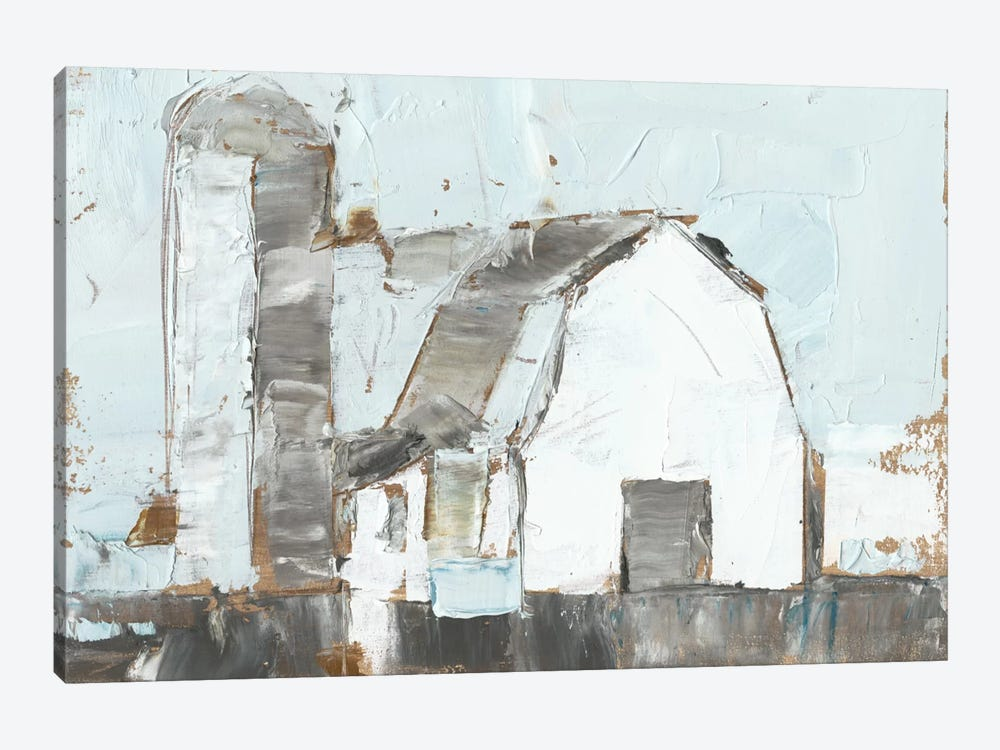 Barn & Silo II by Ethan Harper 1-piece Canvas Artwork