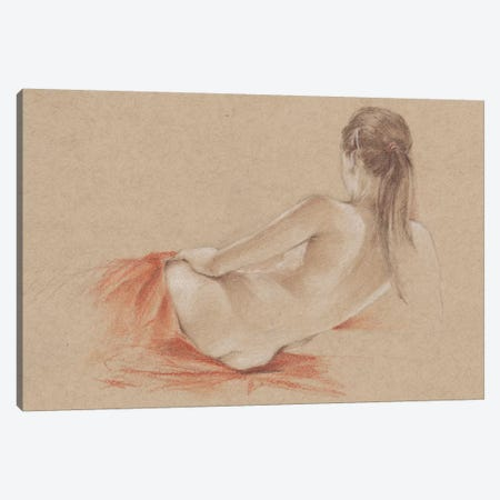 Classical Figure Study I Canvas Print #EHA194} by Ethan Harper Canvas Art Print