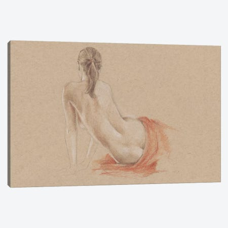 Classical Figure Study II Canvas Print #EHA195} by Ethan Harper Art Print