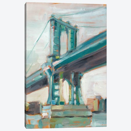 Contemporary Bridge I Canvas Print #EHA196} by Ethan Harper Art Print