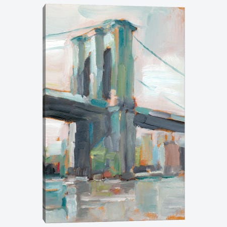 Contemporary Bridge II Canvas Print #EHA197} by Ethan Harper Canvas Print