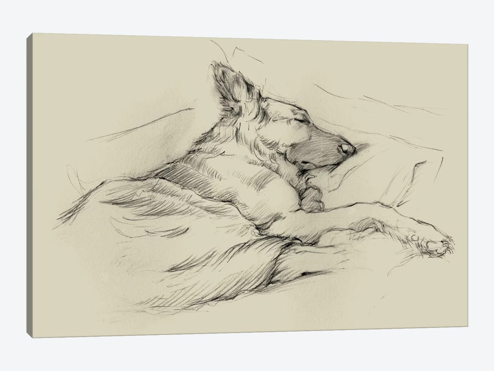 Dog Days IV by Ethan Harper 1-piece Art Print
