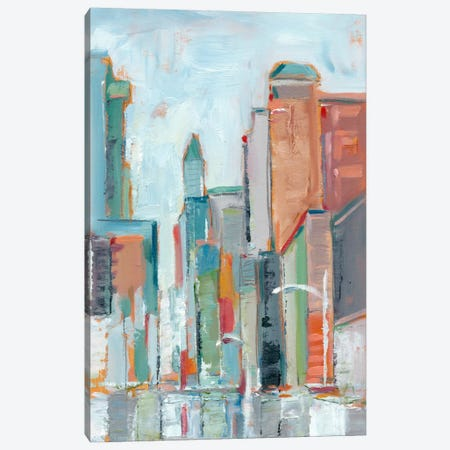 Downtown Contemporary I 3-Piece Canvas #EHA204} by Ethan Harper Canvas Art Print