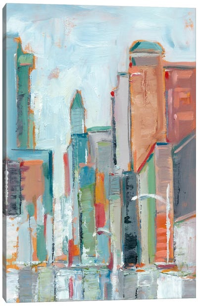 Downtown Contemporary I Canvas Art Print