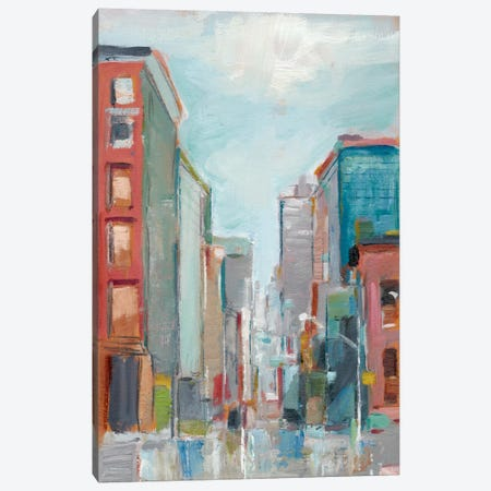 Downtown Contemporary II 3-Piece Canvas #EHA205} by Ethan Harper Canvas Print