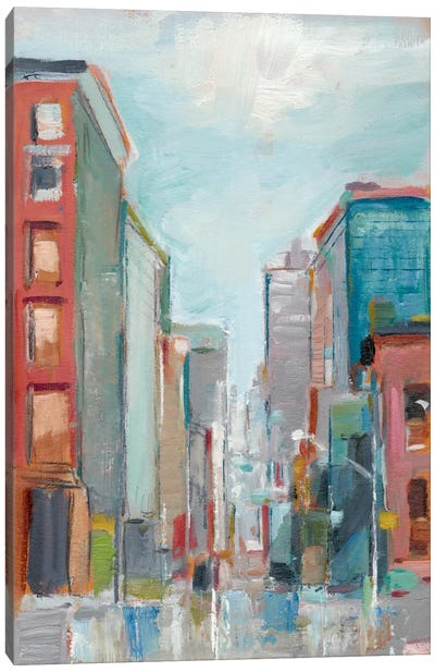 Downtown Contemporary II Canvas Art Print