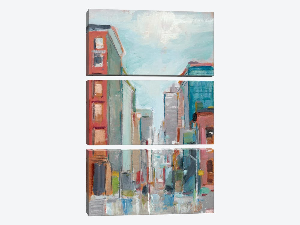 Downtown Contemporary II by Ethan Harper 3-piece Canvas Print