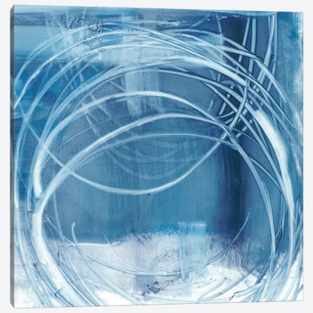 Indigo Expression I Canvas Print #EHA206} by Ethan Harper Art Print