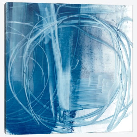 Indigo Expression III Canvas Print #EHA208} by Ethan Harper Canvas Wall Art
