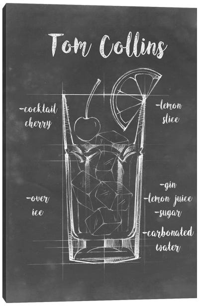 Mixology II Canvas Art Print