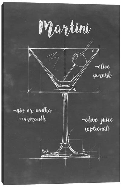 Mixology V Canvas Art Print