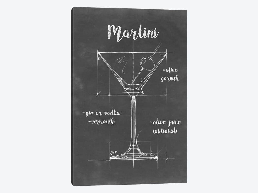 Mixology V by Ethan Harper 1-piece Canvas Print