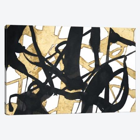 Embellished Luxe Canvas Print #EHA216} by Jennifer Goldberger Canvas Art