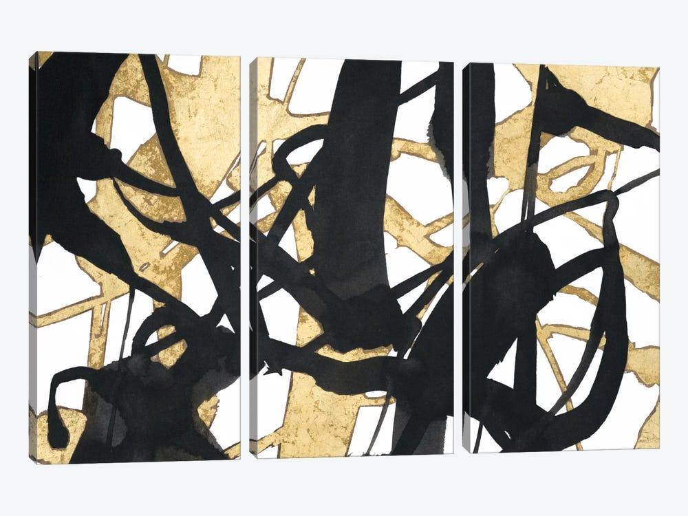 Embellished Luxe by Jennifer Goldberger 3-piece Canvas Print
