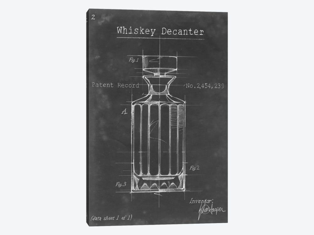 Barware Blueprint VII by Ethan Harper 1-piece Canvas Art Print