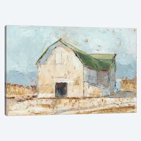 Whitewashed Barn IV Canvas Print #EHA226} by Ethan Harper Canvas Art Print