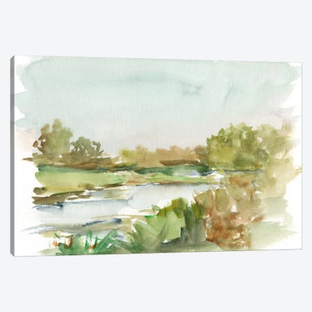 Impressionist Watercolor I Canvas Print #EHA240} by Ethan Harper Canvas Artwork
