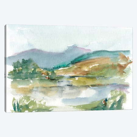 Impressionist Watercolor II Canvas Print #EHA241} by Ethan Harper Canvas Art