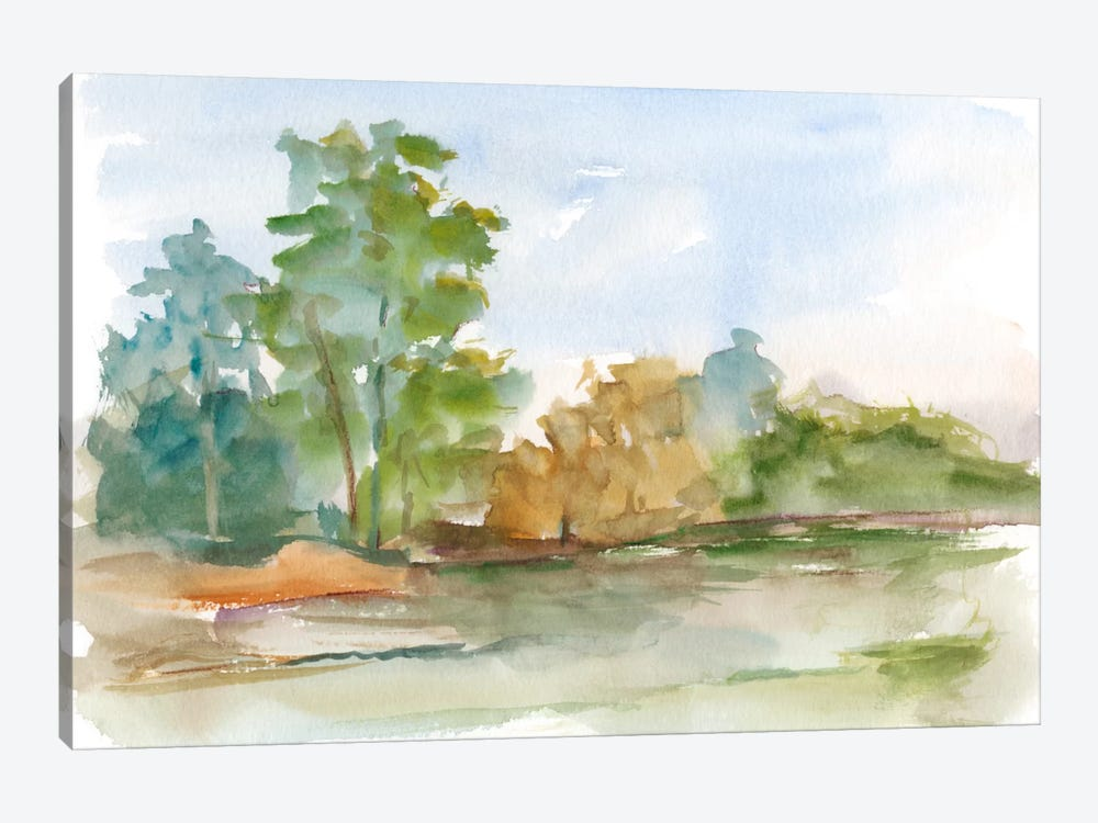Impressionist Watercolor III 1-piece Canvas Art